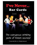 IVE NEVER BAR CARDS GAME