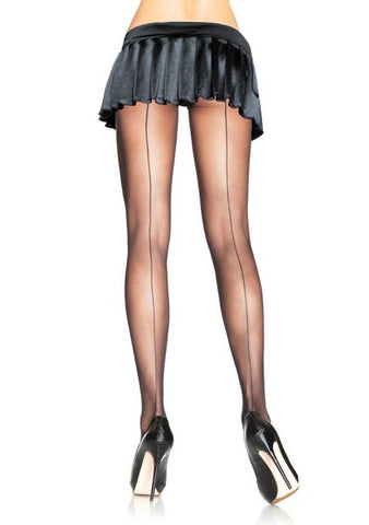 BACKSEAM SHEER PANTYHOSE