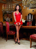 HALTER BABYDOLL WITH RESTRAINTS
