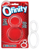 SCREAMING O OFINITY COCK RING CLEAR
