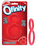 SCREAMING O OFINITY COCK RING RED