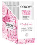 COOCHY SHAVE FROSTED CAKE SINGLE