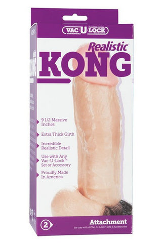 KONG THE REALISTIC VAC U LOCK DONG