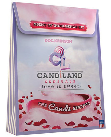 CANDILAND SENSUALS NIGHT OF INDULGENCE KIT - BATH AND BODY - Intimate Treasures™