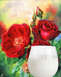 ROSE PETALS MASSAGE CANDLE - BATH AND BODY - Intimate Treasures™