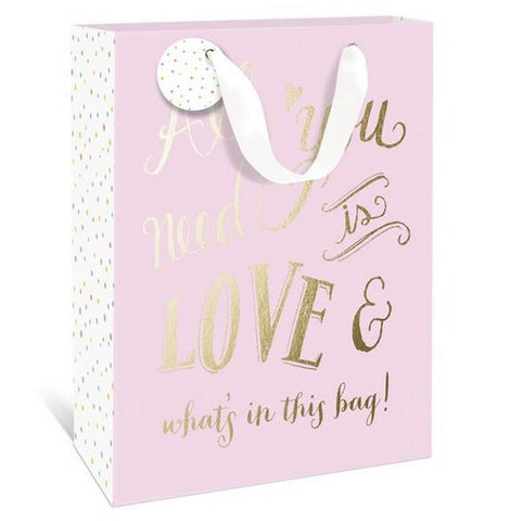 ALL YOU NEED IS LOVE SM GIFT BAG