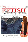 FETISH FANTASY FURRY HANDCUFFS BLUE