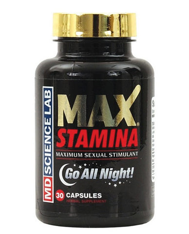 MAX STAMINA BOTTLE 30 COUNT