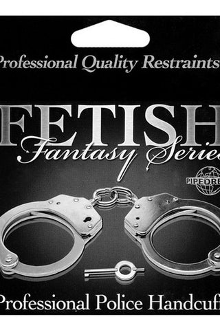 FETISH FANTASY PROFESSIONAL POLICE HANDCUFFS