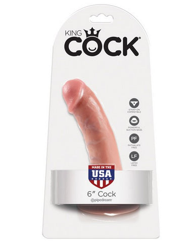 KING COCK 6IN DILDO