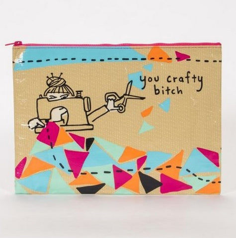 YOU CRAFTY BITCH JUMBO POUCH