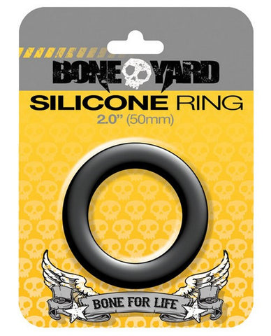 BONEYARD 2IN SILICONE COCKRING - NOVELTY - Intimate Treasures™