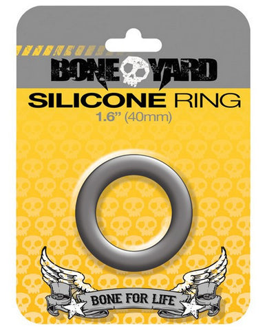 "Boneyard 1.6"" Silicone Ring - Grey"