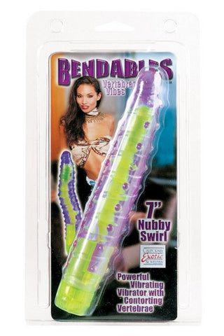 7IN BENDABLES NUBBY SWIRL VIBE