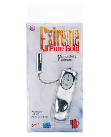 EXTREME PURE GOLD MICRO BULLET PLATINUM