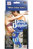 DIVING DOLPHIN VIBRATING COCK RING