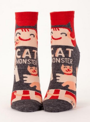 CAT MONSTER ANKLE SOCKS