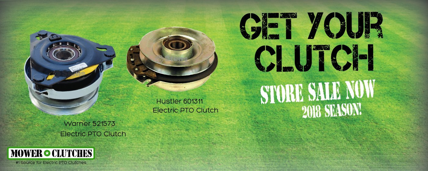 1 Source for Electric PTO Clutches - MowerClutches com