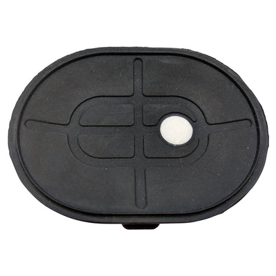"4""x 3"" Oval Suction Cup Replacement Rubber Base Pad 1pc Suction Cup Elim A Dent LLC"