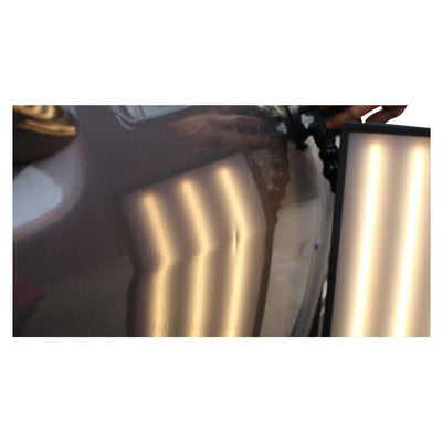 "Elim A Dent 20"" Clear-frosted Double-sided Lens, Matte Anti-glare & Hi-gloss (Outside lens) Lens Elim A Dent LLC"