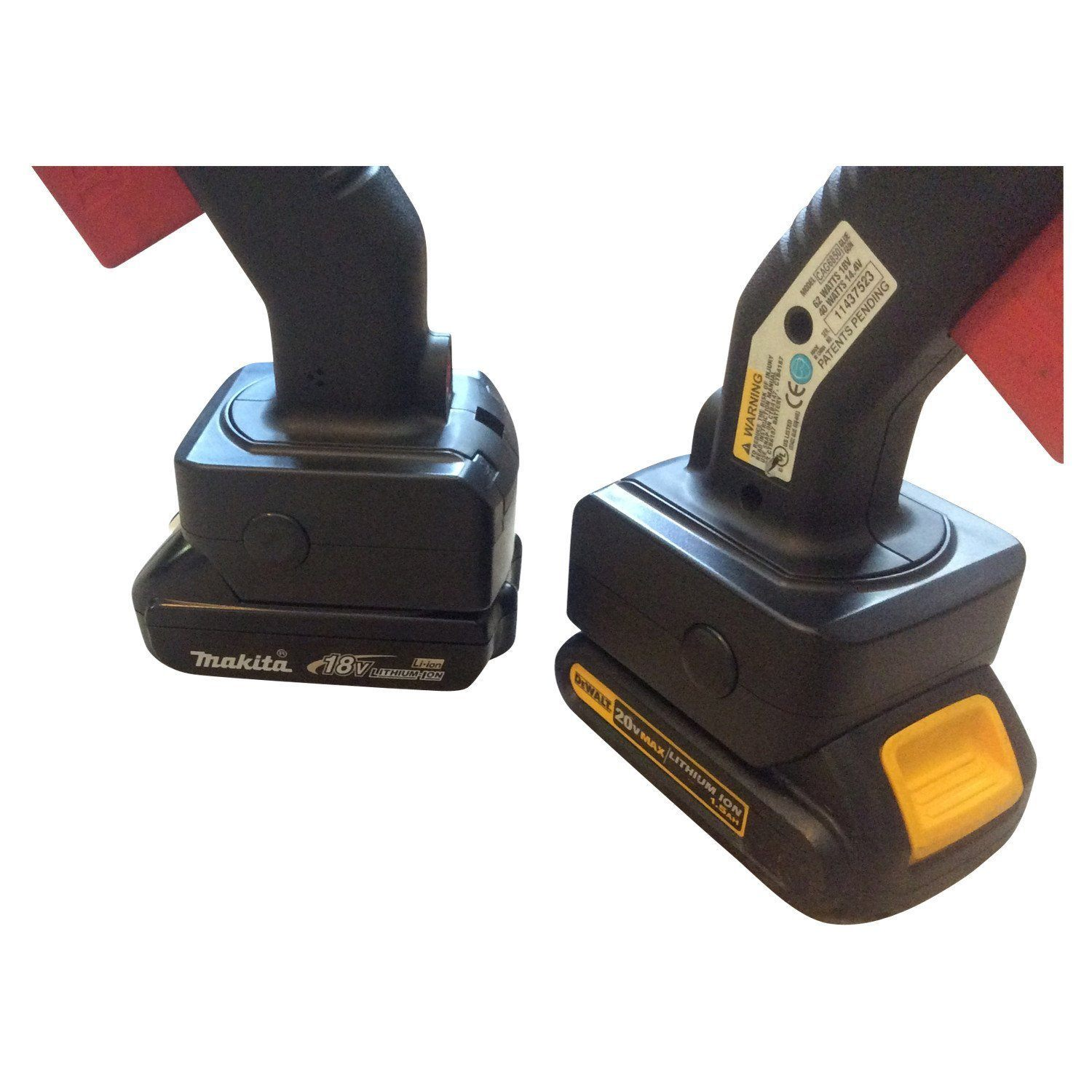 Elim A Dent Battery Adapter Snap-On To Makita