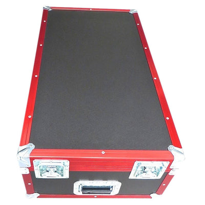"Small Red Tdn Travel Cart - 36"" X 19 1/2"" X 12"" Cart TDN"