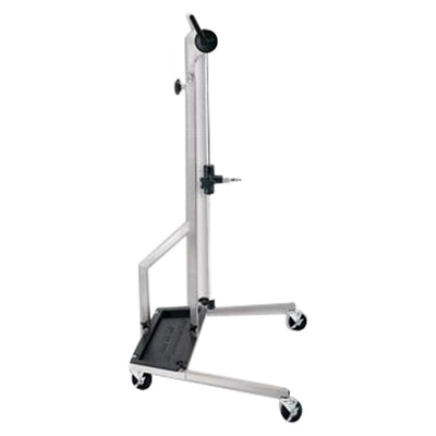 Ultra Vision Stainless Stand A1BST-SS | w/o Fixture,Collar | w/ 4 Locking Wheels & Battery Tray Stand Ultra Dent Tools