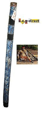 DIDGERIDOO HARDWOOD 87CM ABORIGINAL STYLE BEAUTIFULLY HAND PAINTED NEW BL