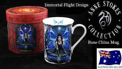 ANNE STOKES BONE CHINA MUG IMMORTAL FLIGHT