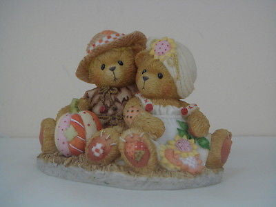 ENESCO CHERISHED TEDDIES I KNEW I WOULD FALL FOR YOU DENNIS AND BARB NEW IN BOX