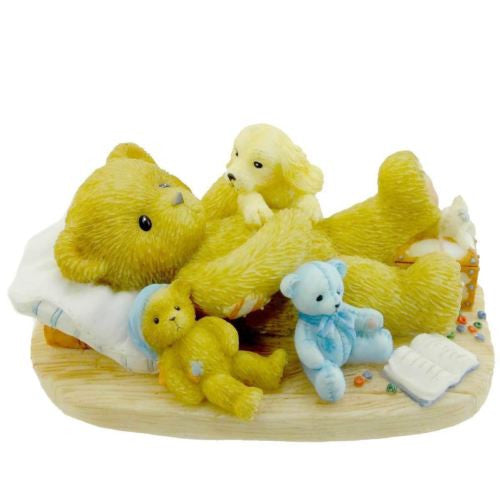 "ENESCO CHERISHED TEDDIES IRA YOU DESERVE A GOOD REST "" RARE COLLECTIBLE "" NEW"