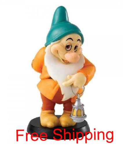 ENESCO DISNEY ENCHANTING COLLECTION BLUSHING DWARF BASHFUL FIGURINE SNOW WHITE