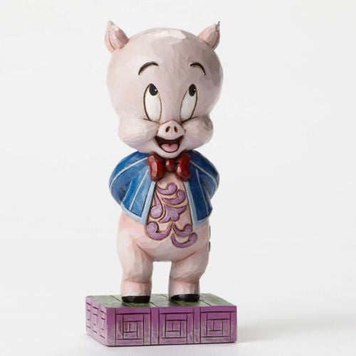 JIM SHORE LOONEY TUNES COLLECTION PORKY PIG ITS P P P PORKEY BRAND NEW FIGURINE