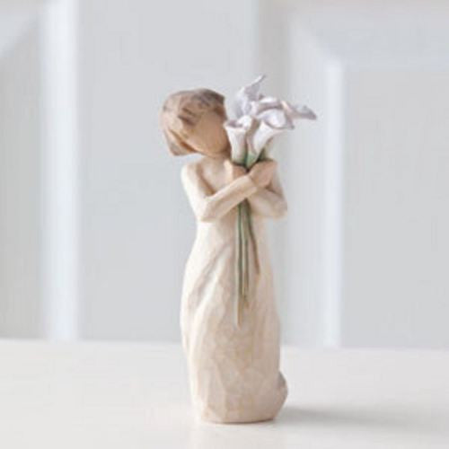 BEAUTIFUL WISHES Demdaco Willow Tree Figurine By Susan Lordi NEW IN BOX