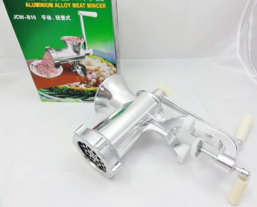 MEAT GRINDER MINCER MACHINE SIZE 10 MINCEMEAT FINE KITCHEN CLEARANCE