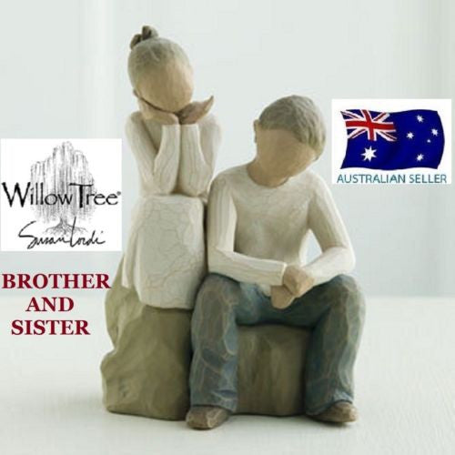 BROTHER AND SISTER Demdaco Willow Tree Figurine By Susan Lordi BRAND NEW IN BOX