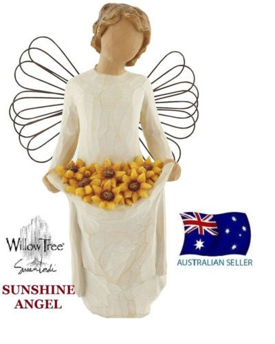 SUNSHINE ANGEL Demdaco Willow Tree Figurine By Susan Lordi BRAND NEW IN BOX