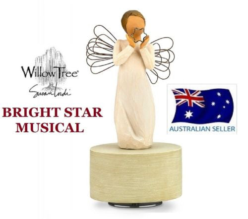 BRIGHT STAR MUSICAL MUSIC BOX Demdaco Willow Tree Figurine By Susan Lordi NEW