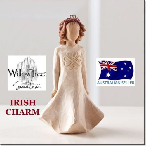 IRISH CHARM Demdaco Willow Tree Figurine By Susan Lordi BRAND NEW IN BOX