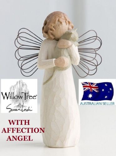 WITH AFFECTION ANGEL Demdaco Willow Tree Figurine By Susan Lordi BRAND IN BOX