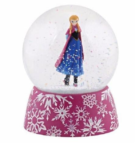 DEPARTMENT 56 DISNEY FROZEN  ANNA WATERBALL WATERGLOBE NEW