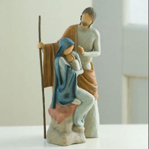 THE HOLY FAMILY NATIVITY Demdaco Willow Tree Figurine By Susan Lordi BNIB