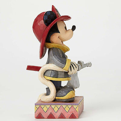 DISNEY FIREMAN MICKEY MOUSE TO THE RESCUE FIGURINE