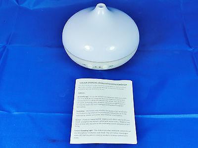 ULTRASONIC ATOMIZER AROMATHERAPY DIFFUSER VAPORIZER AND HUMIDIFIER W19