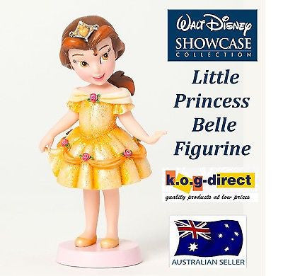 DISNEY SHOWCASE GROWING UP LITTLE PRINCESS BELLE FIGURINE BEAUTY AND BEAST NEW