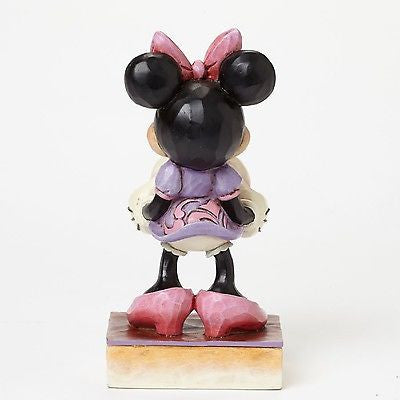 DISNEY SHOWCASE TRADITIONS JIM SHORE MINNIE MOUSE ITS A GIRL FIGURINE NEW BABY