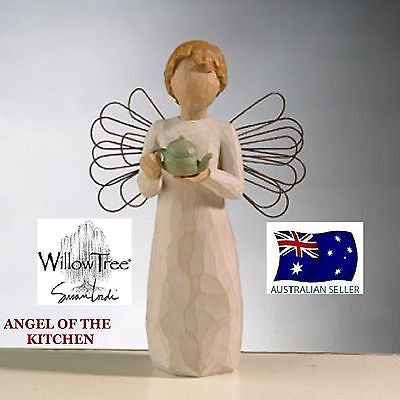 ANGEL OF THE KITCHEN DEMDACO WILLOW TREE FIGURINE BY SUSAN LORDI NEW IN BOX