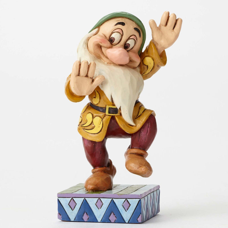 DISNEY SHOWCASE TRADITIONS JIM SHORE BASHFUL BOOGIE FIGURINE NEW