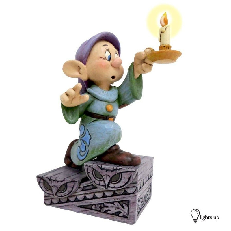 DISNEY SHOWCASE TRADITIONS JIM SHORE DOPEY A LIGHT IN THE DARK FIGURINE NEW