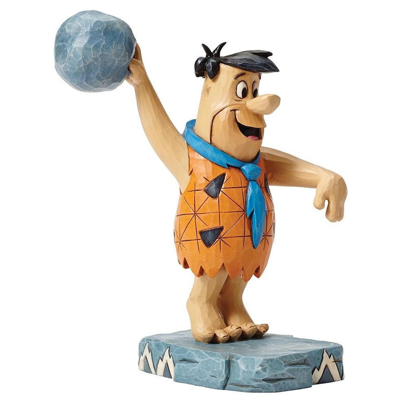 JIM SHORE THE FLINTSTONES COLLECTION FRED FLINTSTONE TWINKLE TOES FIGURINE